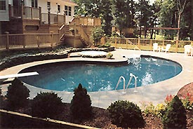 Inground Vinyl Pools Carroll County Maryland