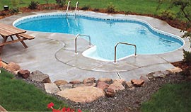 Inground Vinyl Lined Swimming Pools Md Foxxx Inground Pools Replacement Liners Automatic